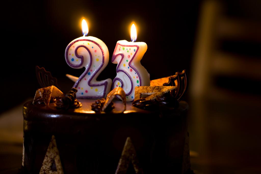 Поздравления на 23 года с днем рождения