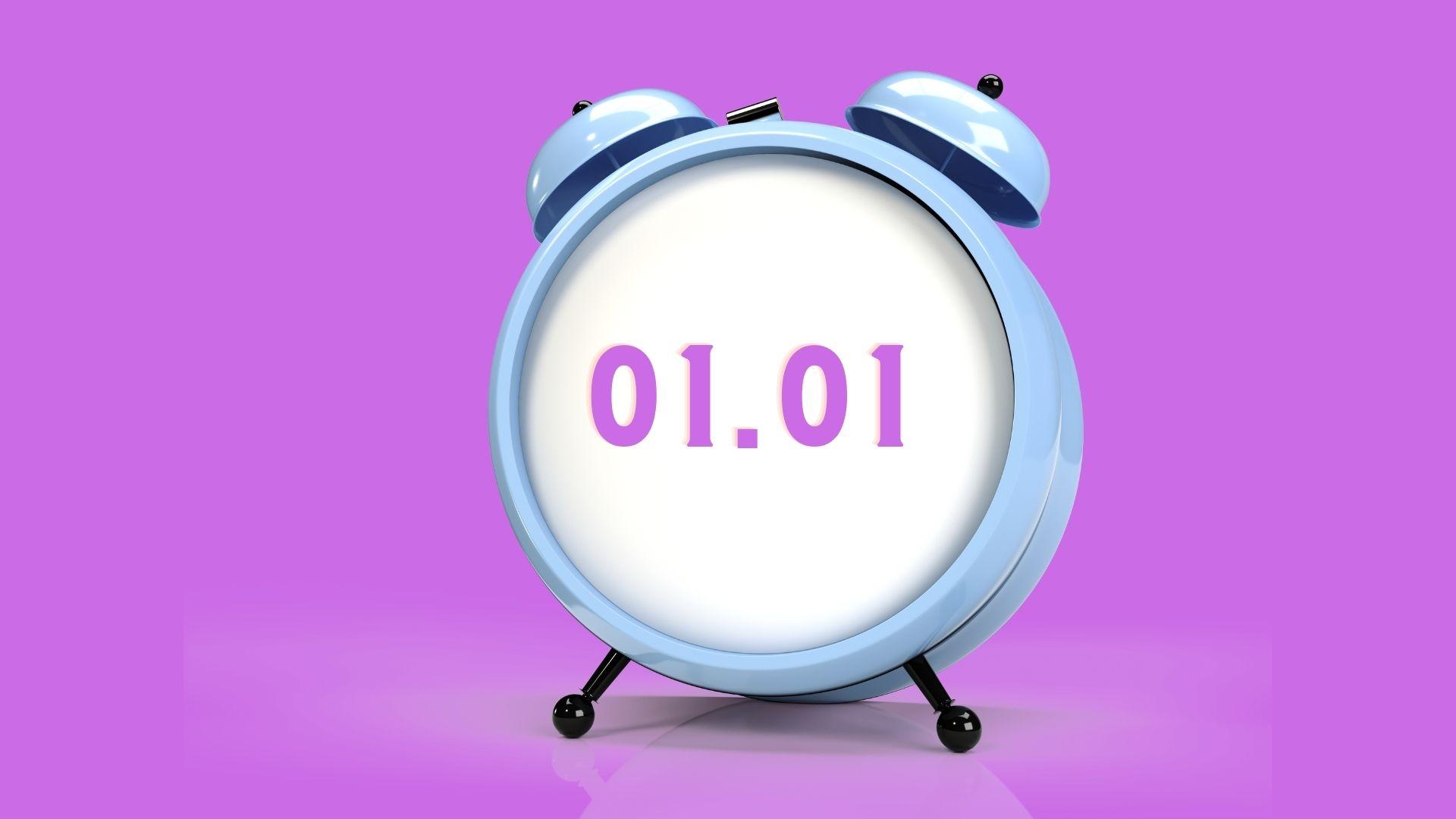 01.01 Saat Anlamı